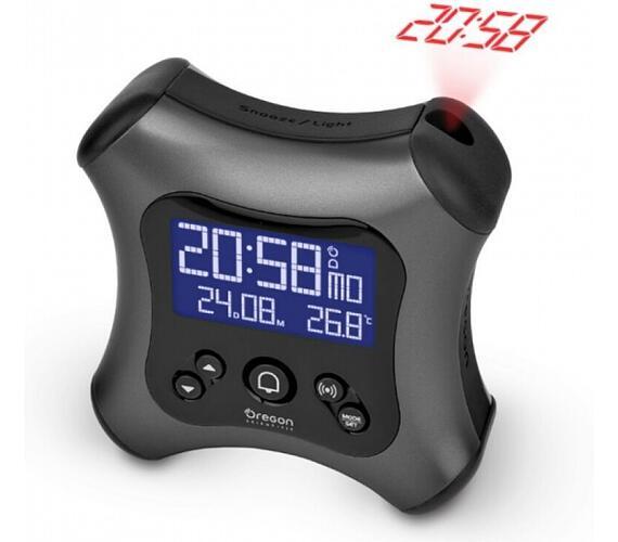Digitální budík s projekcí času RM330PG Oregon Scientific