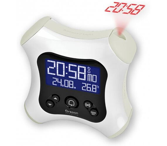 Digitální budík s projekcí času RM330PW Oregon Scientific