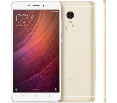 Xiaomi Redmi 4X CZ LTE Gold/ 5´´ HD 1280x720/1,4GHz OC/3GB/32GB/SD/2xSIM/13MPx/4100mAh + DOPRAVA ZDARMA