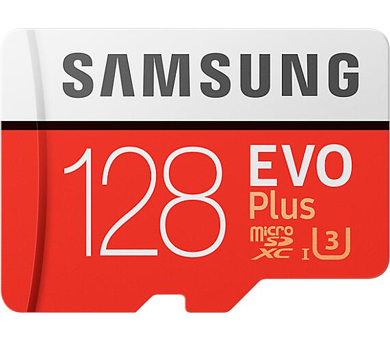 Samsung micro SDXC 128GB EVO Plus + SD adaptér (MB-MC128GA/EU)