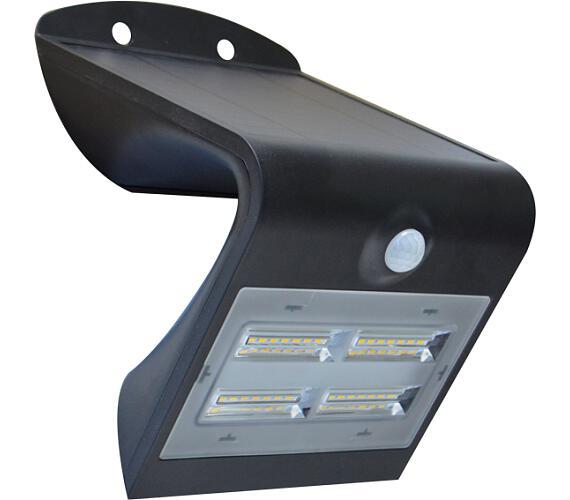 Venkovní solární LED osvětlení s čidlem 3,2W černá Massive 08427L + DOPRAVA ZDARMA