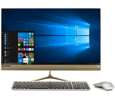 "Lenovo IdeaCentre AIO 520S-23IKU i5-7200U 3,10GHz/8GB/SSD 256GB/23,8"" FHD/WIN10 zlatá F0CU0012CK"