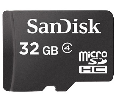 Paměťová karta Sandisk Micro SDHC 32GB 104374