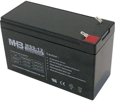 Olověný bezúdržbový akumulátor MHB VRLA AGM 12V/9 Ah MS9-12 (151x65x94mm)