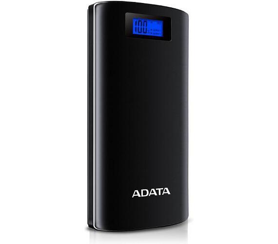 ADATA P20000D Power Bank 20000mAh černá (AP20000D-DGT-5V-CBK)