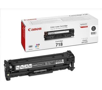 Canon CRG-718Bk + DOPRAVA ZDARMA