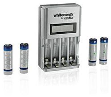 WE Nabíječka LCD HSpeed pro 4xAA/AAA+4xAA 2800mAh