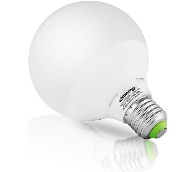 WE LED žárovka SMD2835 G95 E27 10W bílá mléčná