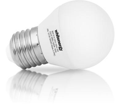 WE LED žárovka SMD2835 B45 E27 5W bílá mléčná