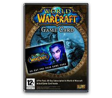 PC CD - World of Warcraft Game Card