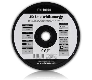 WE LED páska 50m SMD5050 14.4W/m 10mm teplá bílá + DOPRAVA ZDARMA