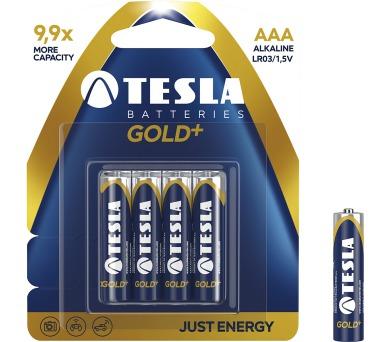 TESLA - baterie AAA GOLD+
