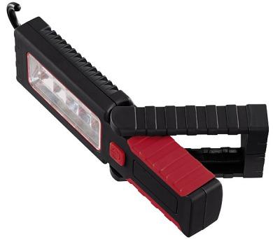 HAMA Professional přenosné pracovní LED světlo/ 3x Micro AAA (součást balení)/ plast/ černé
