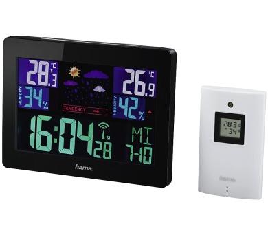 HAMA meteostanice Color EWS-1400/ černá