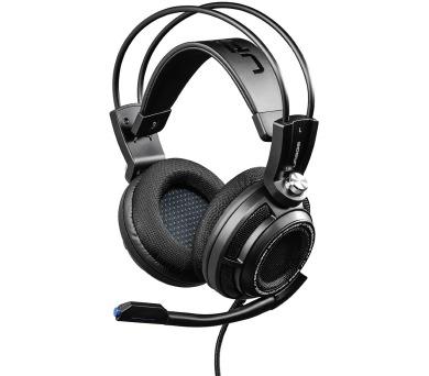 HAMA uRage SoundZ 7.1 gamingový headset/ drátová sluchátka + mikrofon/ USB/ citlivost 105 dB/mW/ černý + DOPRAVA ZDARMA