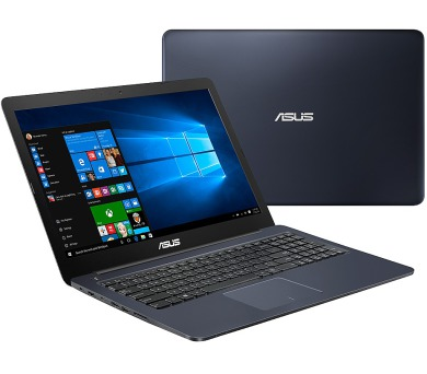 "ASUS E502NA-GO021T Celeron N3350/4GB/500GB/Share Graphics/15,6"" HD LED matný/W10 Home/Blue"