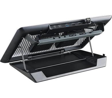 """Cooler Master chladicí ALU podstavec MasterNotePal Maker pro NTB 12-17"""" + DOPRAVA ZDARMA"""