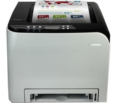 RICOH SP C250DNw - 20 str/min,barevná tiskárna