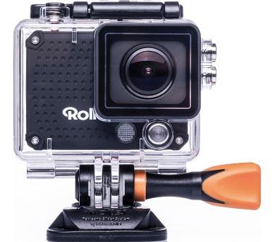 Rollei ActionCam 420 - Černá/ 4K/ FULL HD 1080/60 fps/ 170°/ 40m pzd./ Wi-Fi/ Dál.ovl/ + DOPRAVA ZDARMA