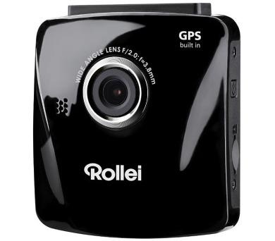 Rollei digitální kamera do auta/ DVR-300/ GPS/ FULL HD video + držák + autonabíječka