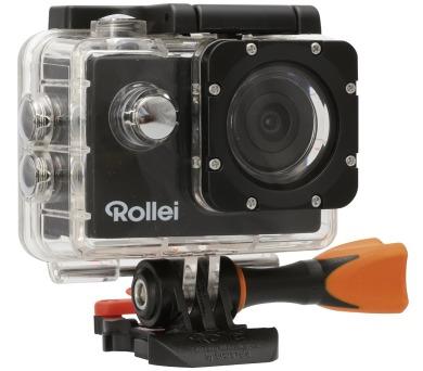 Rollei ActionCam 333 - FULL HD video 1080/30 fps/ 170°/ 30m pzd./ Wi-Fi/ Černá (40293) + DOPRAVA ZDARMA