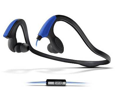 ENERGY Earphones Running Two Neon Blue