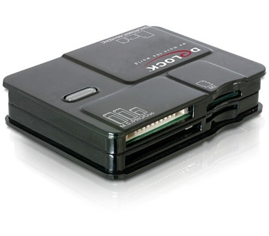 DeLock Card Reader USB2.0 All in1 6xSlots (91471)