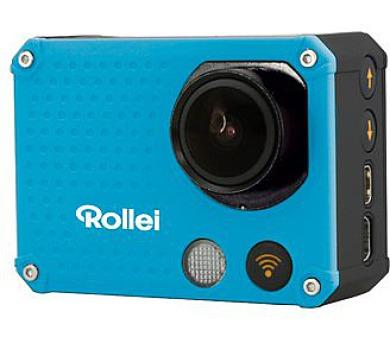 Rollei ActionCam 420 - Modrá/ 4K/ FULL HD 1080/60 fps/ 170°/ 40m pzd./ Wi-Fi/ Dál.ovl/ + DOPRAVA ZDARMA