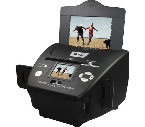 """Rollei skener DF-S 240 SE/ Negativy + Vizitky + Fotky/ 5Mpx/ 1800dpi/ 2,4"""" LCD/ SDHC/ USB (20681)"""