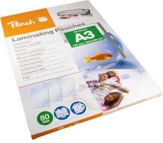 Peach laminovací folie A3 (303x426mm)