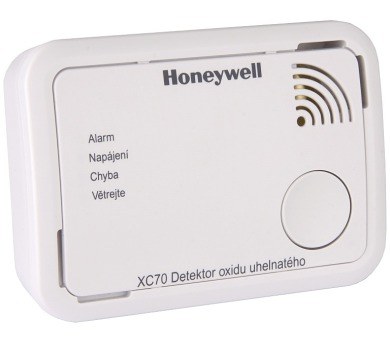 Honeywell detektor oxidu uhelnatého XC70-CS (CO Alarm)