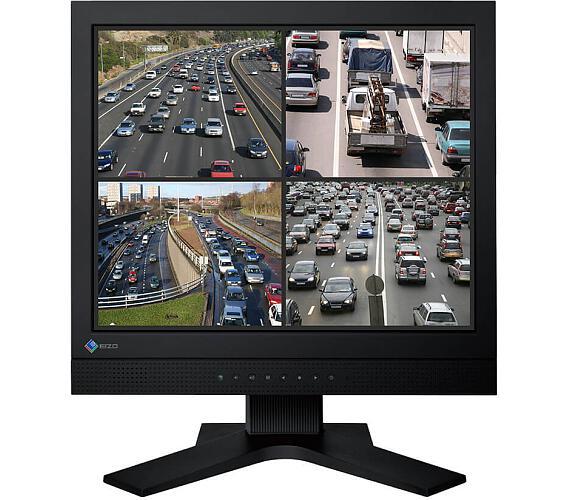 EIZO FDS1703- CCTV,SXGA,5:4,BNC,rep,24/7 (FDS1703-BK) + DOPRAVA ZDARMA
