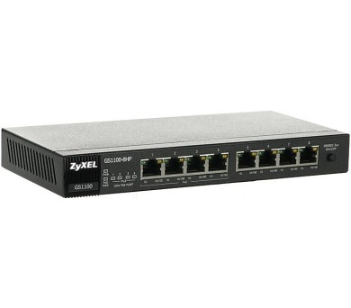 Zyxel GS1100-8HP 8-port Gigabit Ethernet PoE Switch