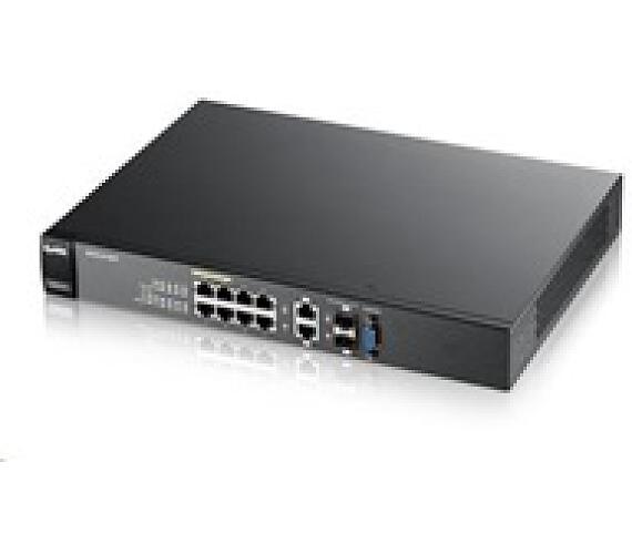 Zyxel GS2210-8HP 10-port Managed L2+ Gigabit PoE Switch + DOPRAVA ZDARMA