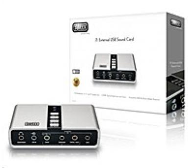 SWEEX 7.1 externí USB zvuková karta - SC016