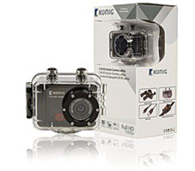 VÝPRODEJ - KÖNIG Akční Full HD kamera 1080p + DOPRAVA ZDARMA