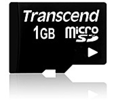 TRANSCEND Micro SD-Card 1GB (bez adaptéru)