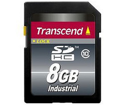 TRANSCEND Industrial Temp SDHC10I Card 8GB Class 10 (TS8GSDHC10I)