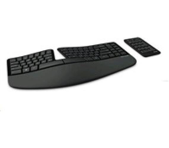 Microsoft klávesnice Sculpt Ergonomic Keyboard USB Port ENG
