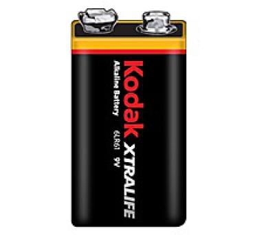 KODAK XTRALIFE alkalická baterie 9V; 1ks