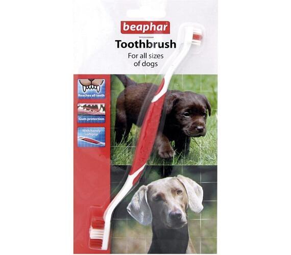 Beaphar zubní kartáček pro psy a kočky 1 ks