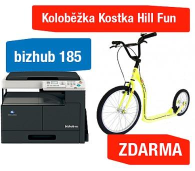 Minolta Bizhub 185 + Koloběžka Kostka Hill Fun (A0XY025)