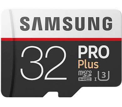 Samsung micro SDHC 32GB PRO Plus + SD adaptér