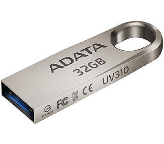 32GB USB 3.1 ADATA UV310 kovová (AUV310-32G-RGD)