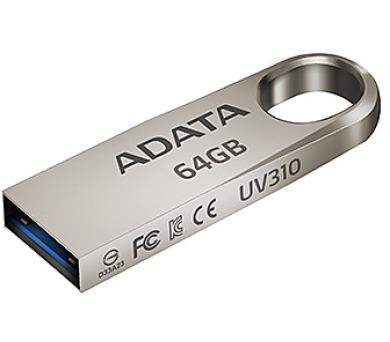 64GB USB 3.1 ADATA UV310 kovová