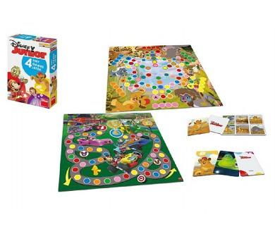 Soubor her 4 Junior Disney společenská hra v krabici 20x29x6cm
