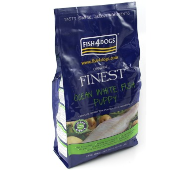 Fish4Dogs Finest Ocean White Fish Puppy Large 1,5 kg
