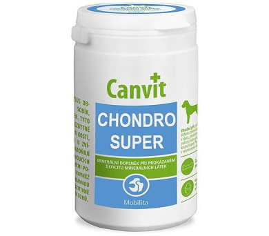 Canvit Chondro Super pro psy NOVÝ tbl 500 g
