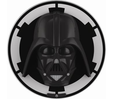 Disney Darth Vader 3D NÁSTĚNNÁ MASKA LED 8x0,06W vč. baterií Massive 71936/30/P0 + DOPRAVA ZDARMA