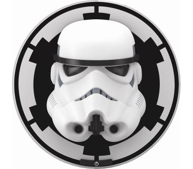 Disney Stormtrooper 3D NÁSTĚNNÁ MASKA LED 8x0,06W vč.baterií Massive 71937/31/P0 + DOPRAVA ZDARMA